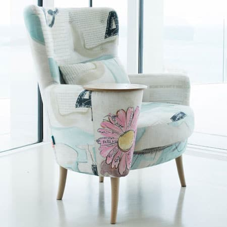 Christie armchair from Fama - Mia Stanza