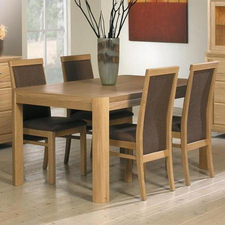 Faro dining table from MTE