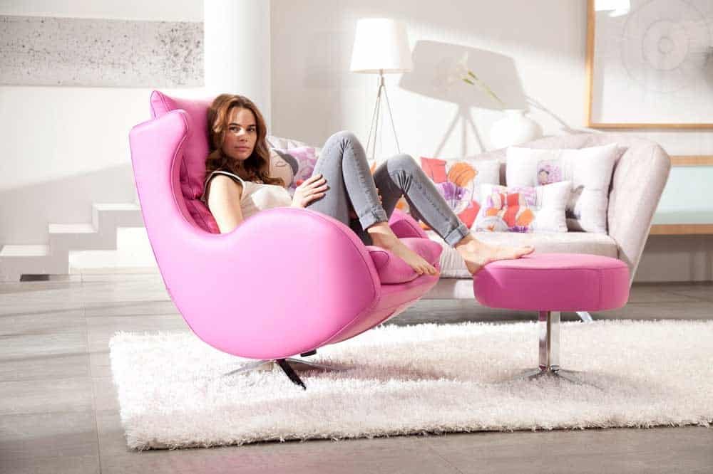 Fama lenny leather chair - Sillones para leer ...