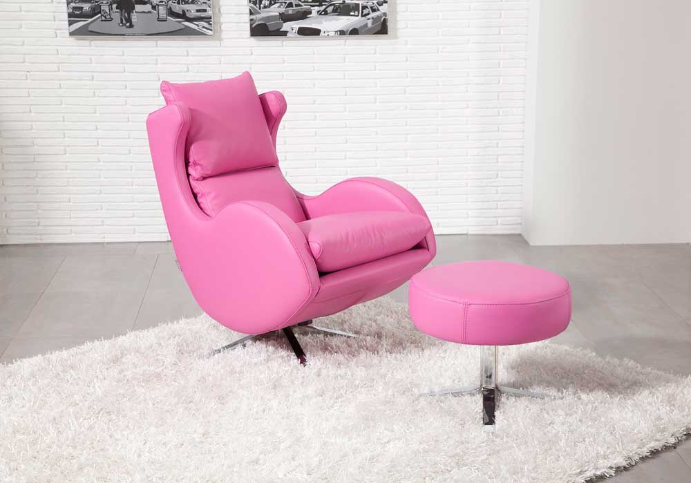 Fama Lenny Leather Chair Miastanza Co Uk