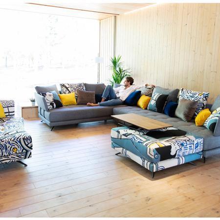 Pacific corner sofa from Fama