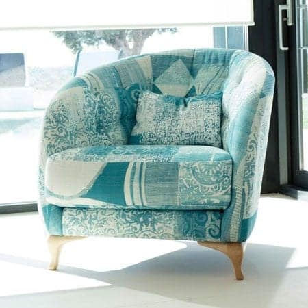 Astoria armchair from Fama