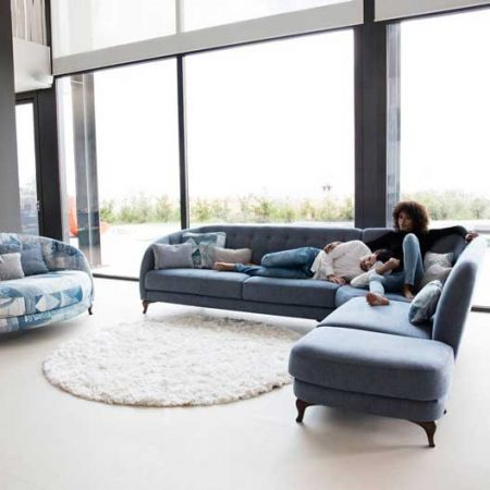 Astoria corner sofa from Fama