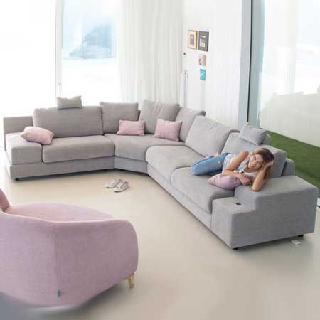Calessi corner sofa from Fama