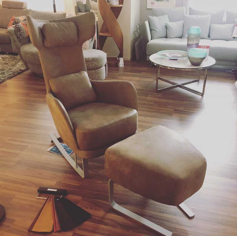 Kangou Leather Chair from Fama & Quality Chairs and Recliners Nantwich Cheshire | Mia Stanza islam-shia.org