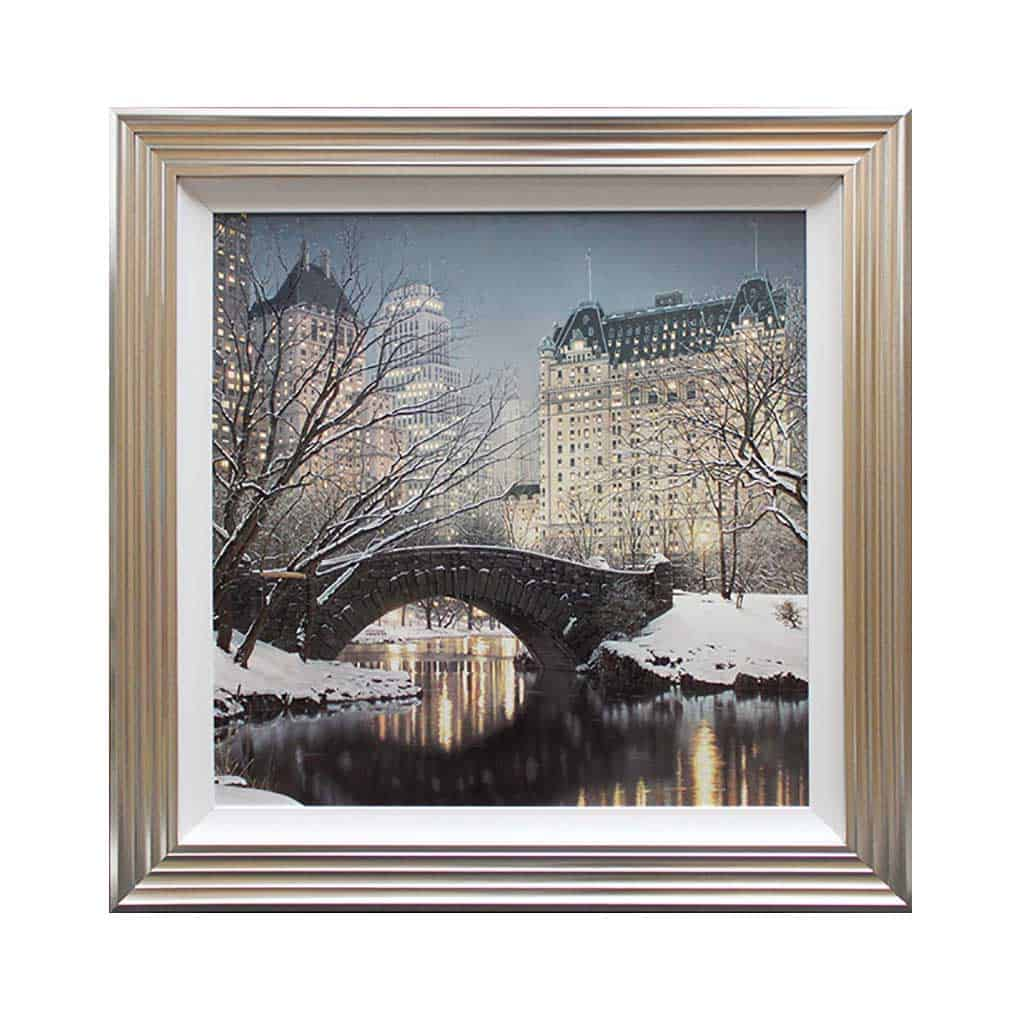 Central Park Framed Print From Complete Colour Mia Stanza