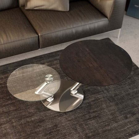 Omega coffee table from Akante Steel ceramics