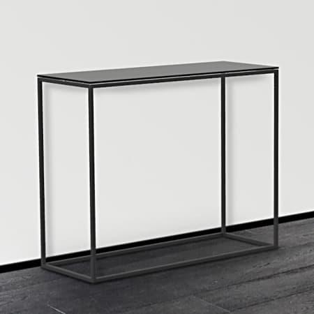 Julia ST180 Console Table - Lacquered Black