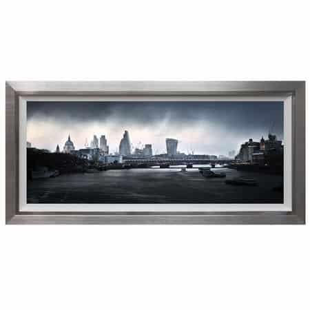 Rainstorm London Framed Print from Complete Colour