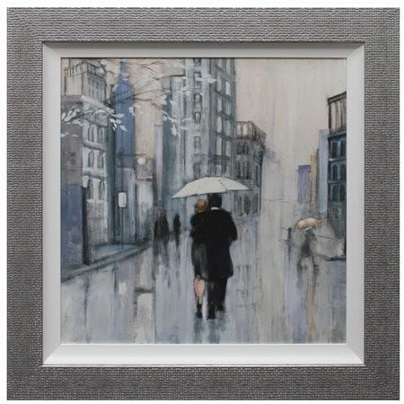 Strolling through New York II framed Print from Complete Colour ...