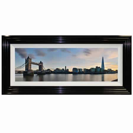 Tower Bridge & Shard (Day) Framed Print from Complete Colour