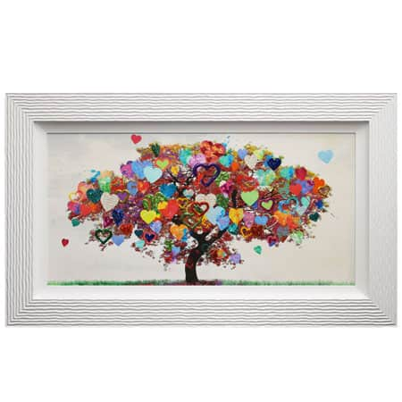 Tree Of Love With Liquid Art From Complete Colour Mia Stanza