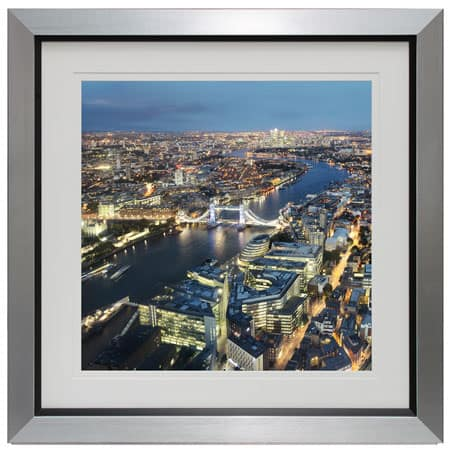 View from the shard II from complete colour