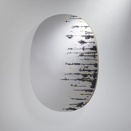 Drip Gold Mirror from Deknudt