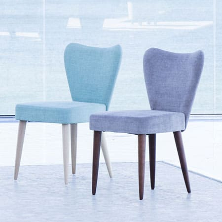 Ginger dining chair from Fama