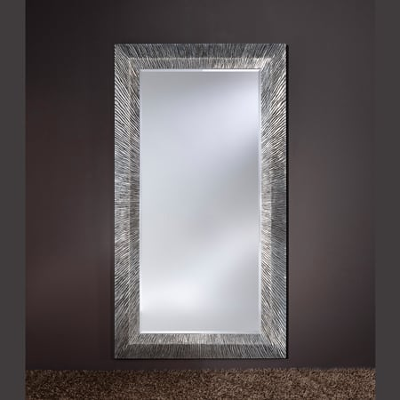 Groove Silver Mirror from Deknudt