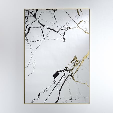 Marble Mirror from Deknudt