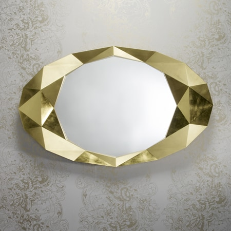 Precious Gold Mirror from Deknudt