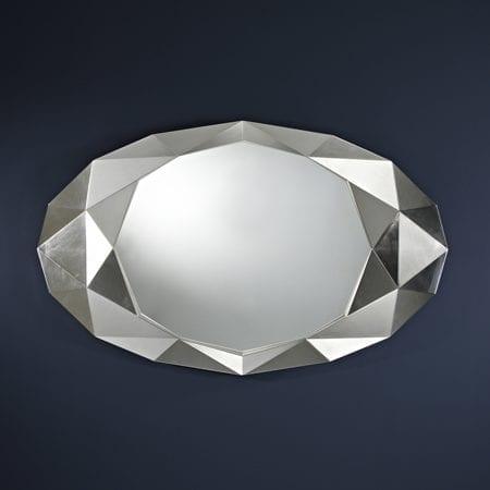 Precious Silver Mirror from Deknudt
