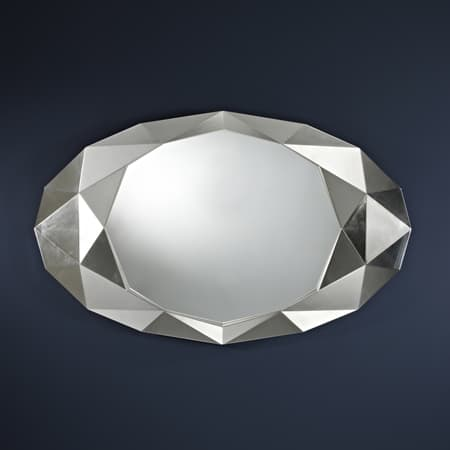 Precious Silver Mirror from Deknudt