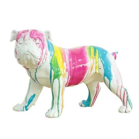 Bulldog sculpture from LBA SC250