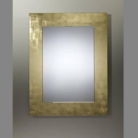 Basic Gold Rectangular Mirror From Deknudt