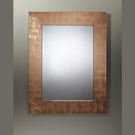 Basic Copper Rectangular Mirror from Deknudt