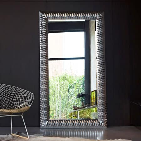Nick L Silver Mirror from Deknudt