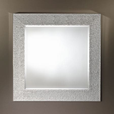 Oslo Silver Square Mirror from Deknudt