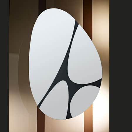 Pebbles Mirror from Deknudt