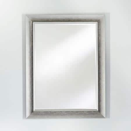 Bilbao Silver Rectangular Mirror from Deknudt