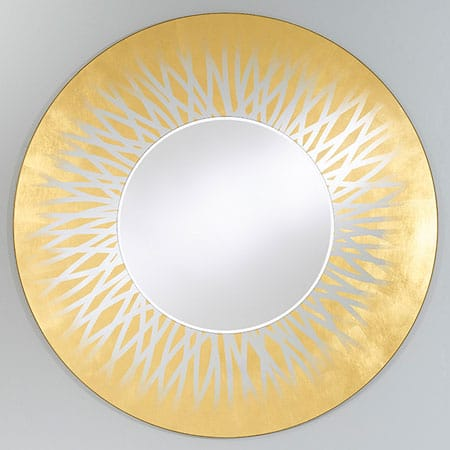Zora Gold Mirror from Deknudt