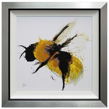 Scruffy Bumblebee II with Liquid Art from Complete Colour