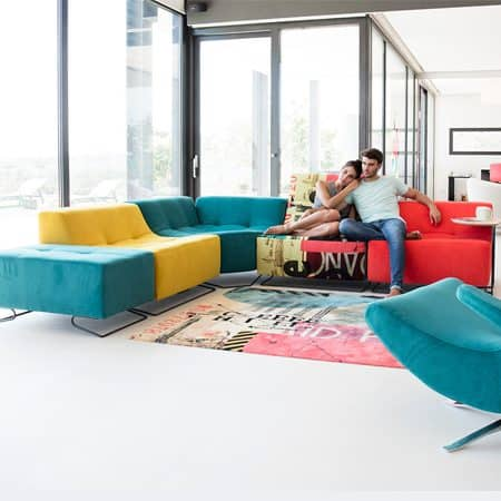 Luci Pop Sofa from Fama