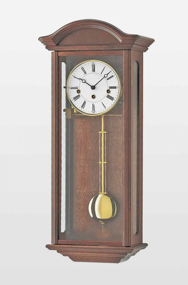 Axford Mechanical Wall Clock in Walnut Finish