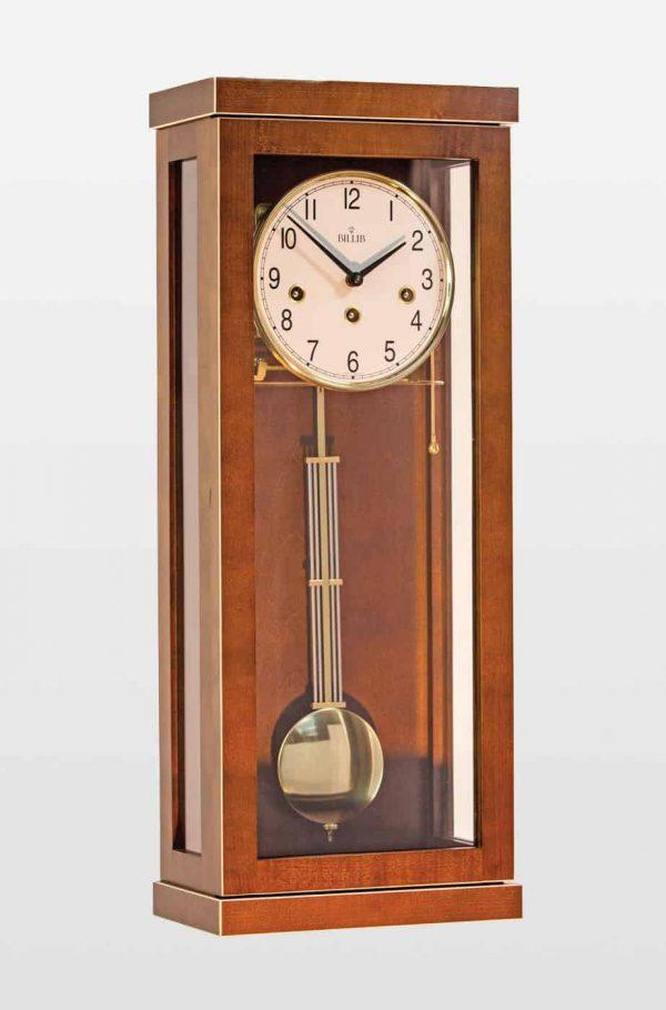 Giselle Walnut Wall Clock in Walnut