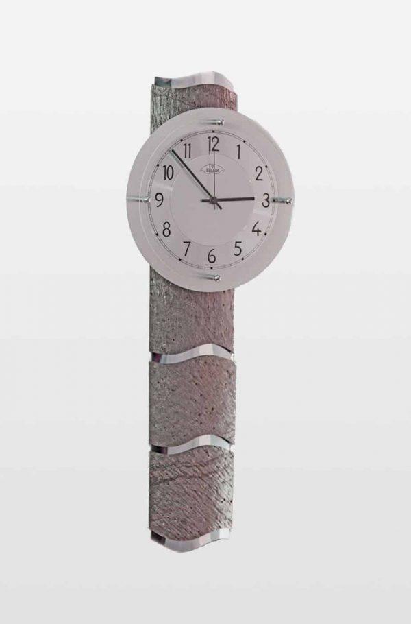 QC9090 Designer Grey Stone Effect Wall Clock
