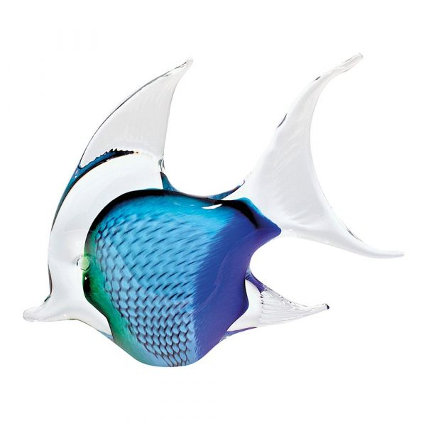 Annie Angel Fish Medium Blue/Teal