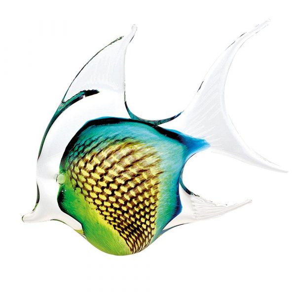 Annie Angel Fish Medium Green