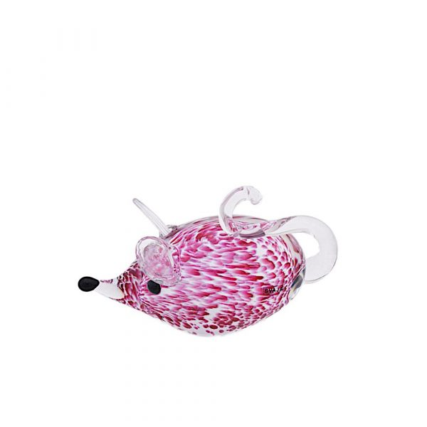 Mavis Mouse Pink/White