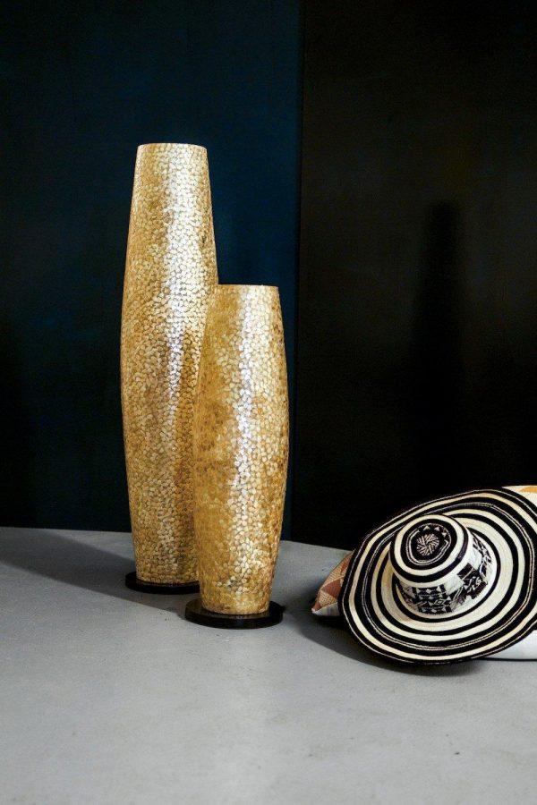 Callisto Gold Floor Lamp