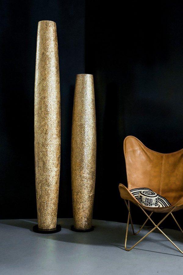 Callisto Tall Gold Floor Lamp