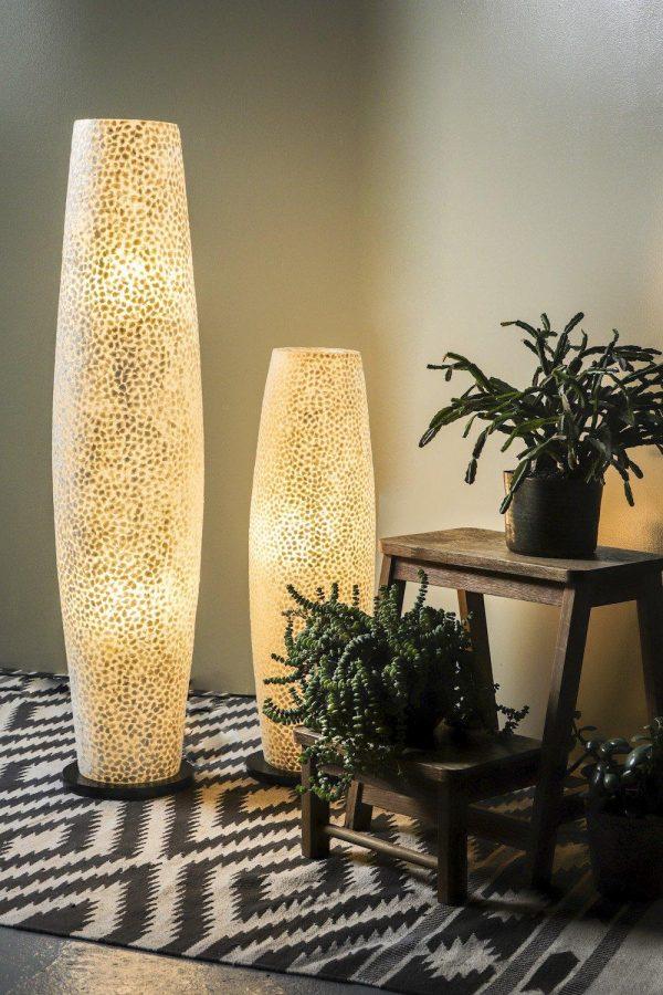 Elara White Floor Lamp
