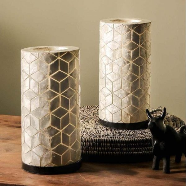 Geo Table Lamp Duo