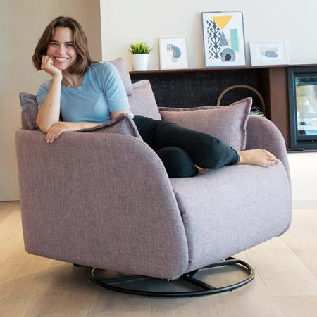 Eva armchair from Fama