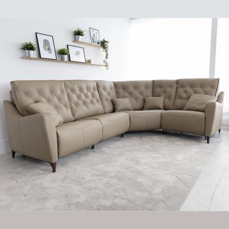 Avalon leather sofa from Fama