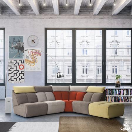 Johnny modular sofa from Calia Italia