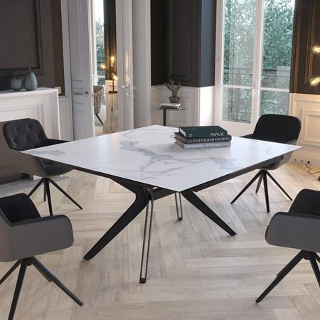 Fascination extending dining table
